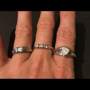 Size 7 and Size 8 Rings